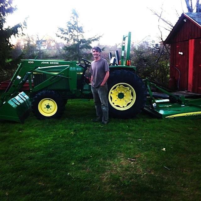 Alain et Tractor