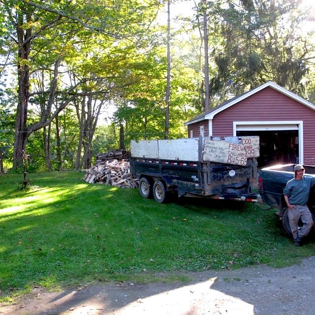 truck wood maine