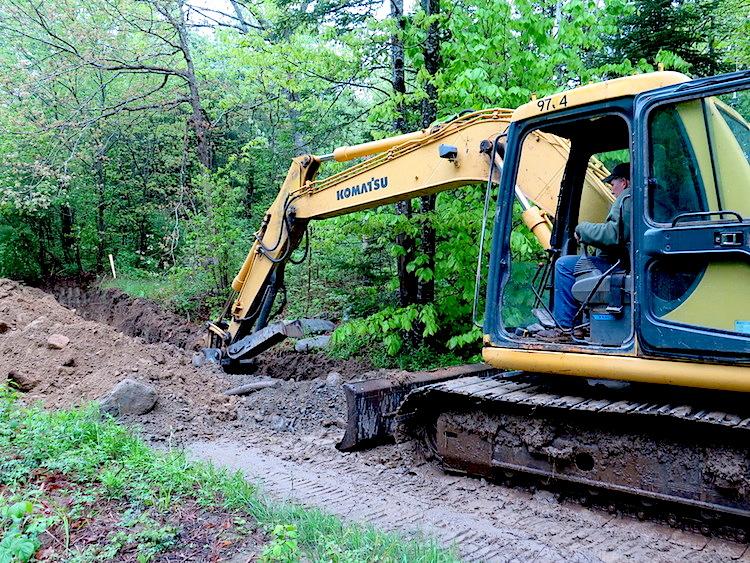 Paris to Maine Road digging - Erica Berman