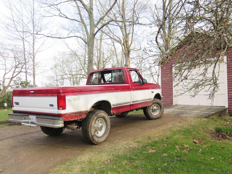 Truck Maine F250