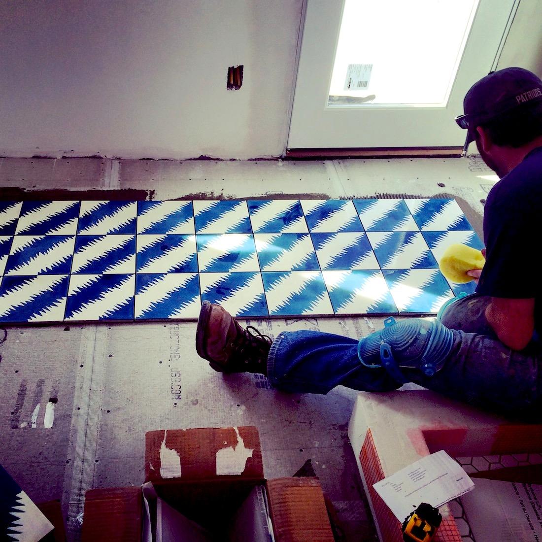 Popham Design Tiles in Maine