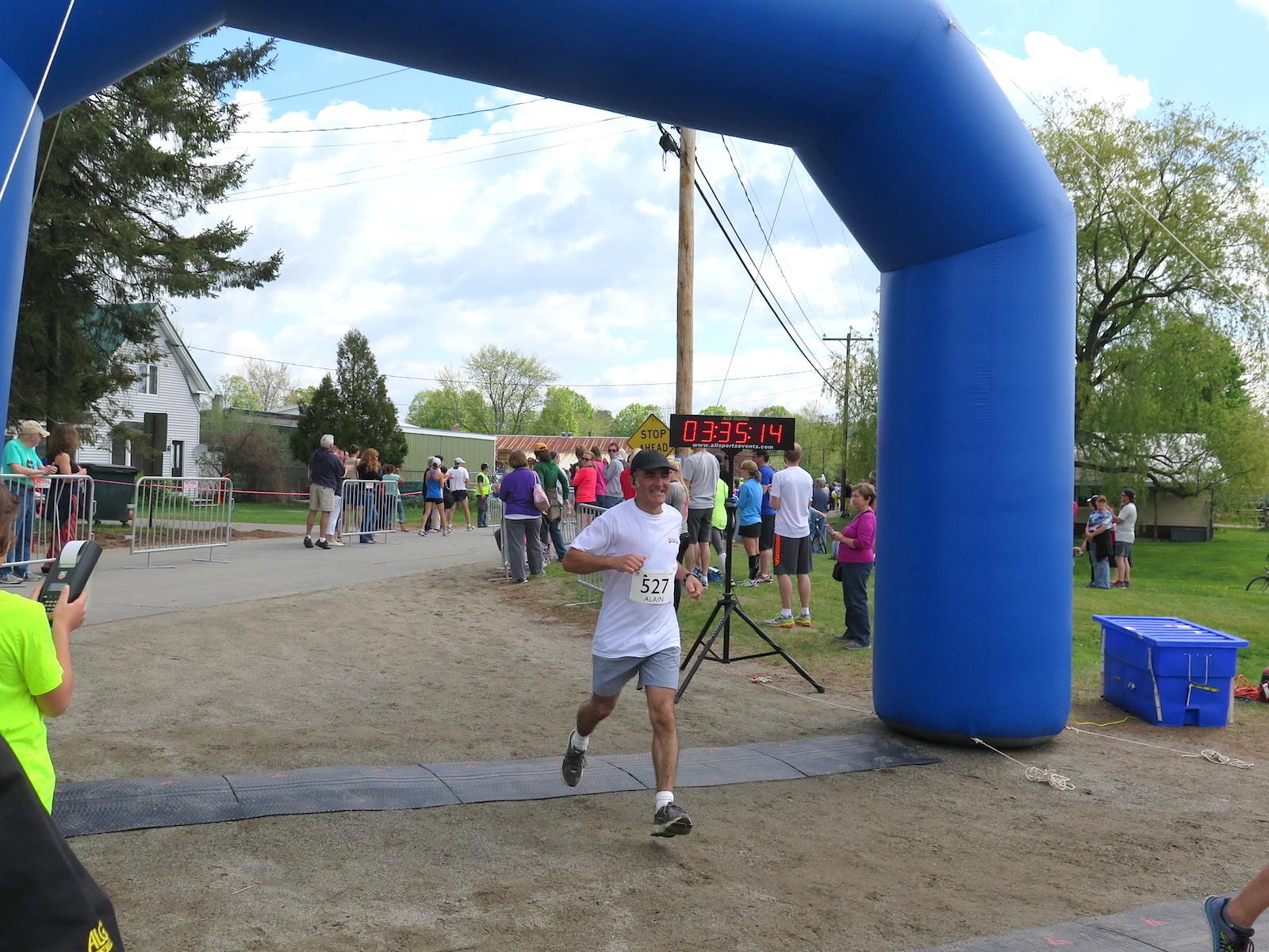 Sugarloaf Maine marathon May 2015