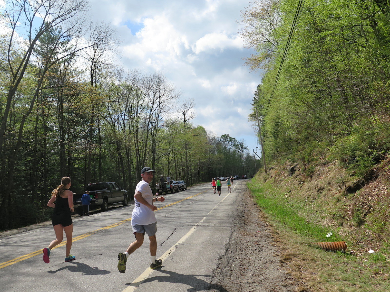 Sugarloaf Maine marathon May 2015