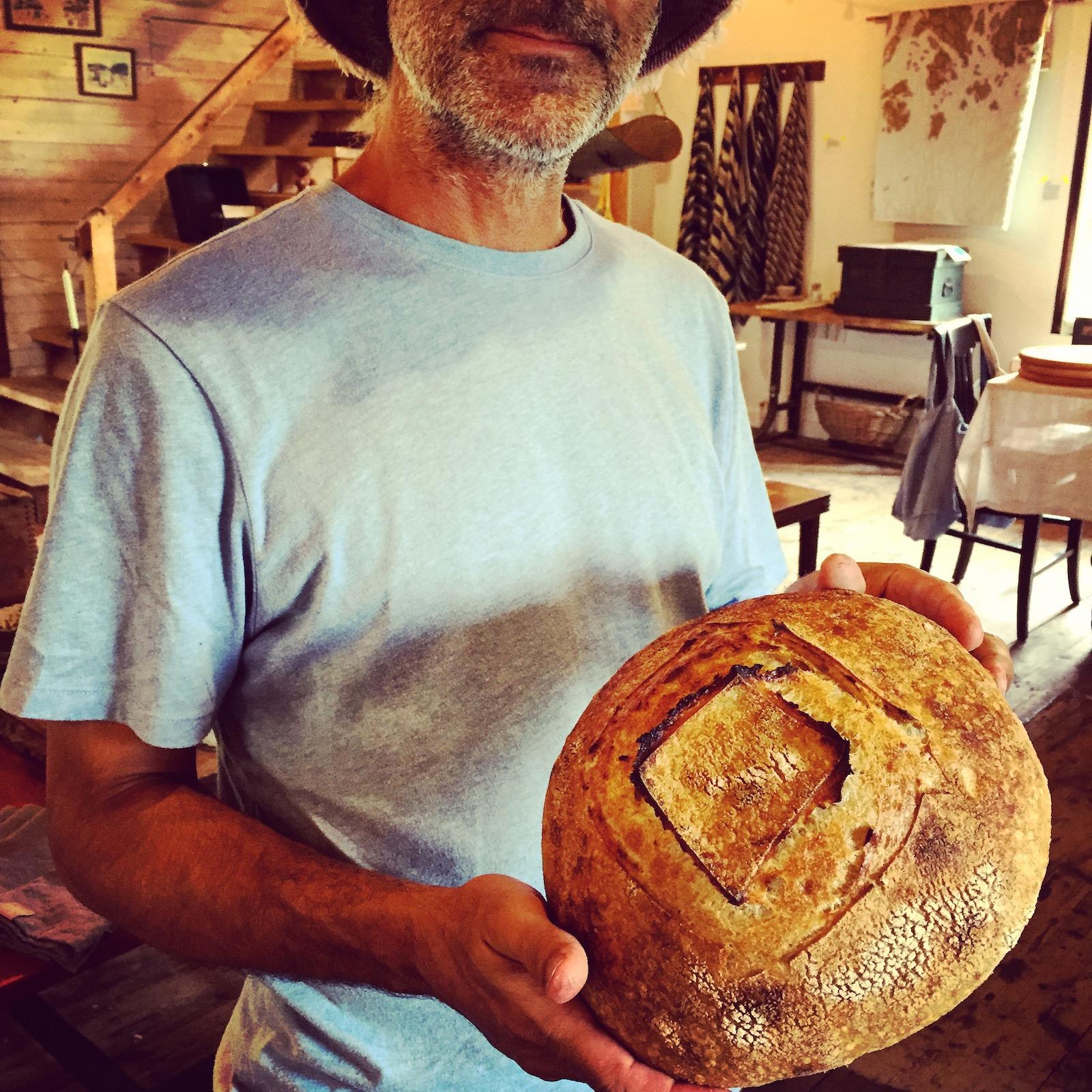 Bread at Pemaquid Mercantile. Maine