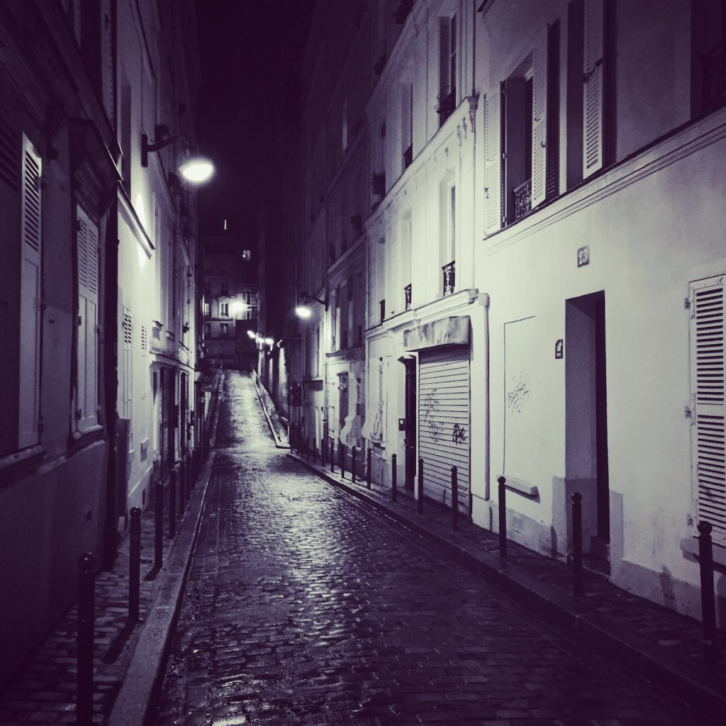 Montmartre by Night. So beautiful.