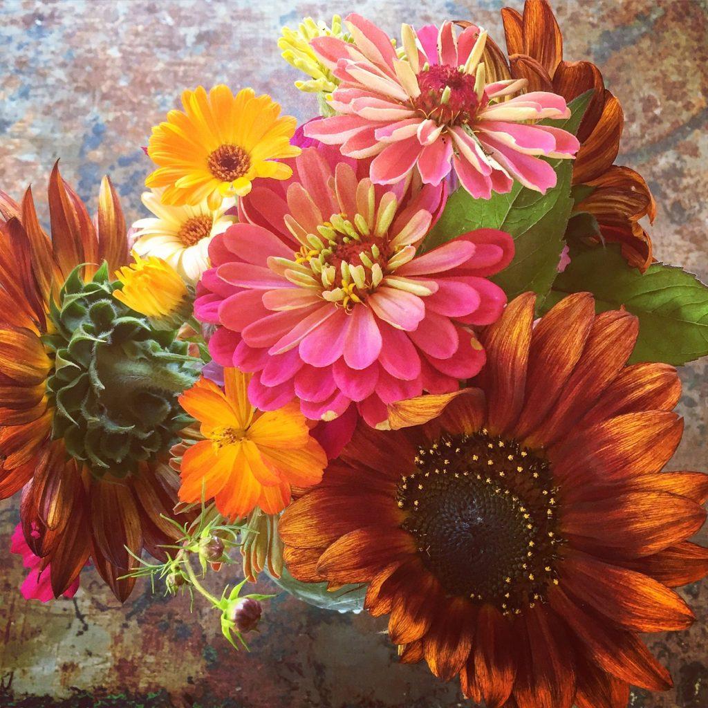 Garden bouquet August 2016