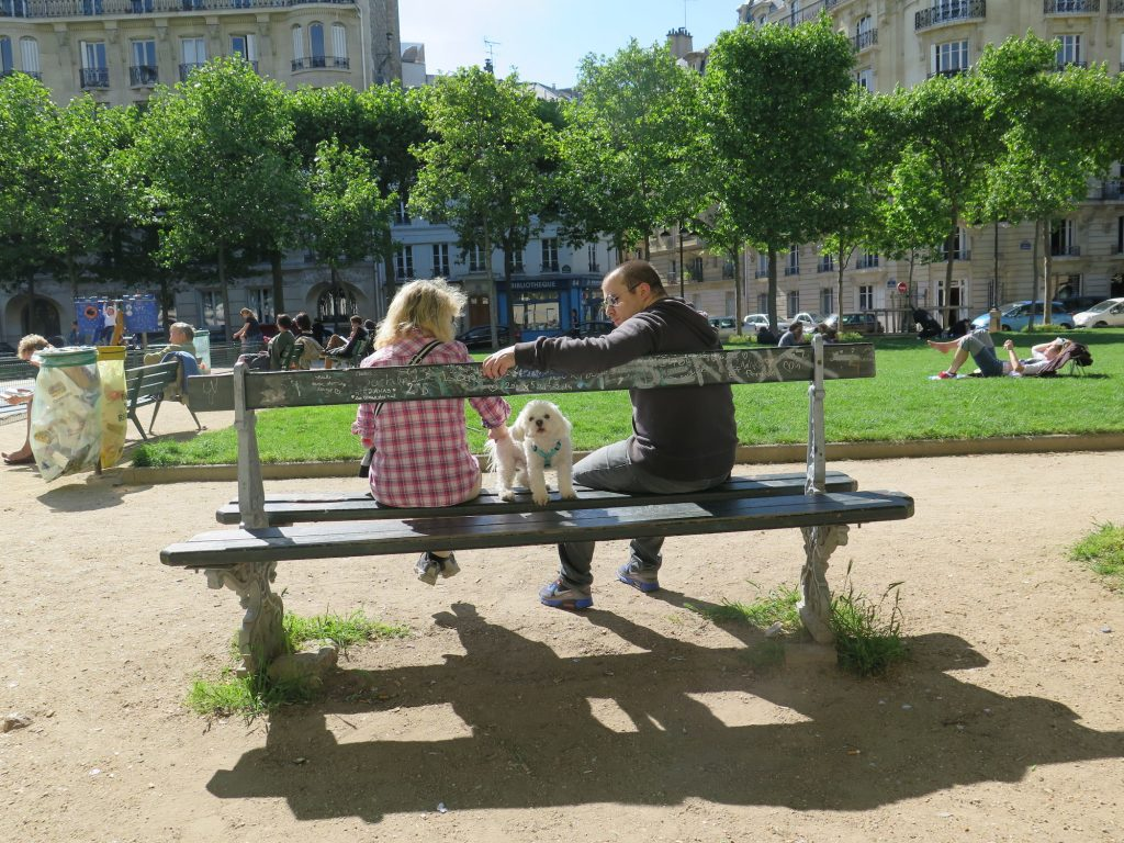 Spring doggy Paris