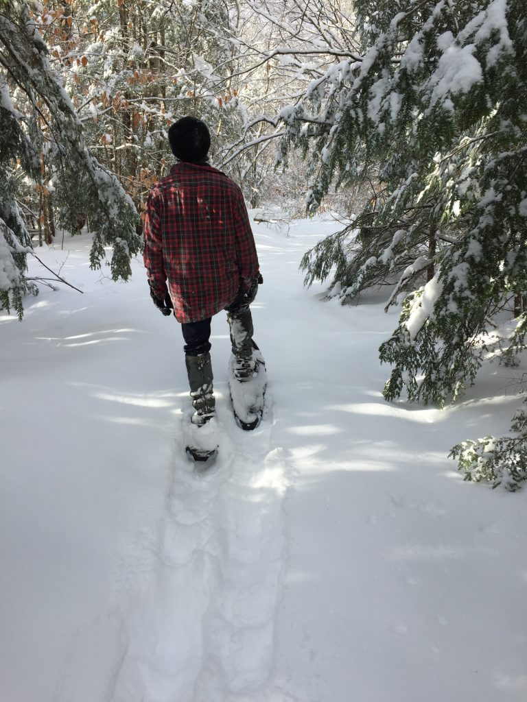 Firstsnowshoe